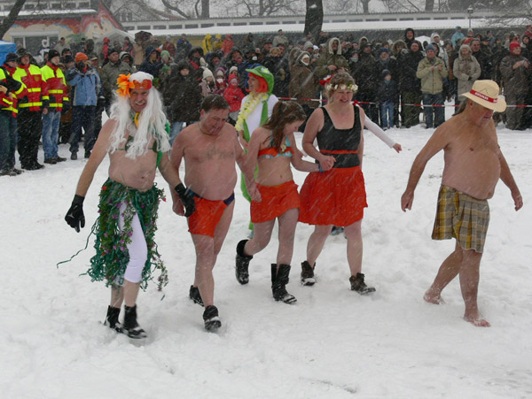 26. Winterbaden in Berlin, Foto von Andrej Barth